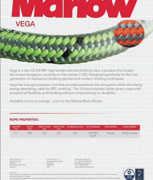 Marlow Vega Rope Spec
